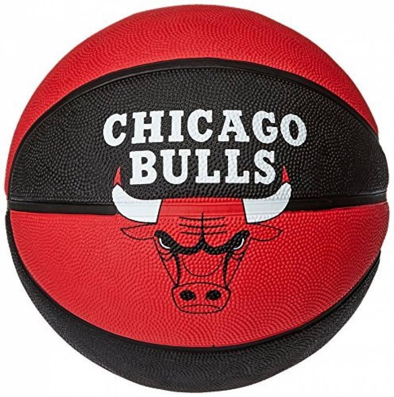 Spalding Chicago Bulls Basketball-Ballon de la marque Spalding TOP 10 image 0 produit
