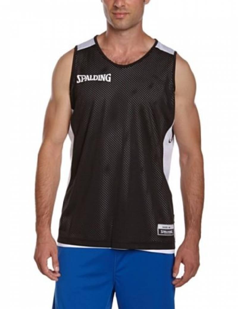 Spalding Essential T-Shirt réversible de basketball homme de la marque Spalding TOP 3 image 0 produit