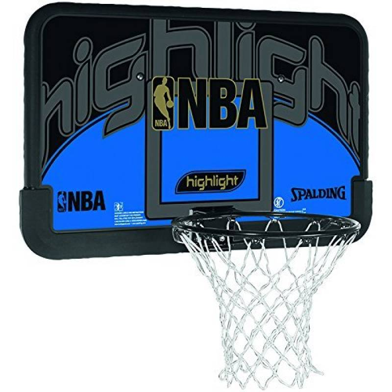 Spalding NBA Highlight / 3001673011144 Panier de basket Noir/bleu de la marque Spalding TOP 5 image 0 produit