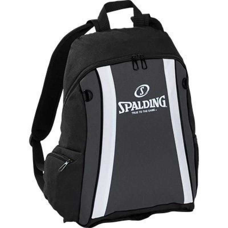 Spalding Sac à dos de basket ball Anthracite/noir avec filet à ballon de la marque Spalding TOP 9 image 0 produit