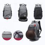 Txxci basket-ball Sac à dos pour ordinateur portable 39,6cm Sac épaules avec panier de basket USB Ports de chargement de la marque TXXCI TOP 9 image 1 produit