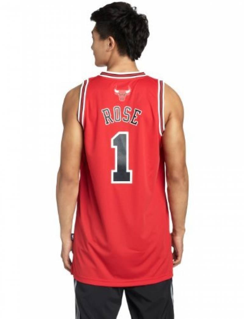 62f82783858d9 adidas Chicago Bulls Derrick Rose NBA Swingman Home Maillot Homme de la  marque adidas TOP 5