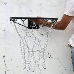 Gazechimp Filet Métal Panier de Basketball de Chaîne en Acier Galvanisé Zingué pour Courts Extérieurs, Parcs et Clubs de loisirs de la marque Gazechimp TOP 2 image 2 produit