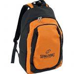 Spalding Ballon de basketball Orange/noir incl. Sac à dos réseau de la marque Spalding TOP 6 image 0 produit